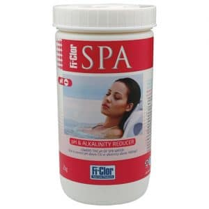 Spa pH and alkaline reducer