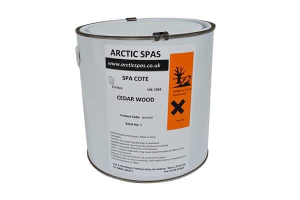 Arctic Spas Cedar Stain